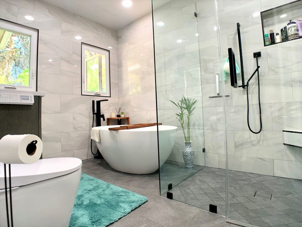 Beautiful Modern Bathroom Remodel Pasadena CA